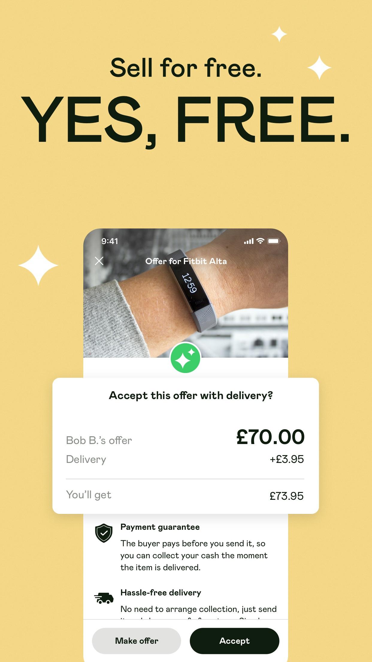 Shpock - the joy of selling Screenshot