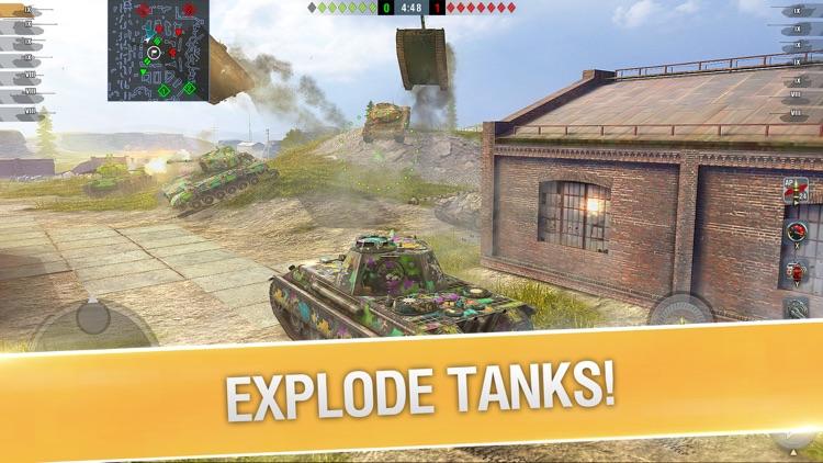 World of Tanks Blitz 3D War screenshot-5