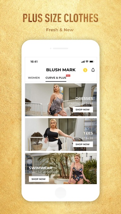 Blush Mark: Women's Clothing Screenshot