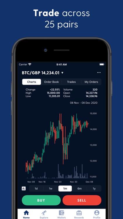 Luno Bitcoin & Cryptocurrency screenshot-5