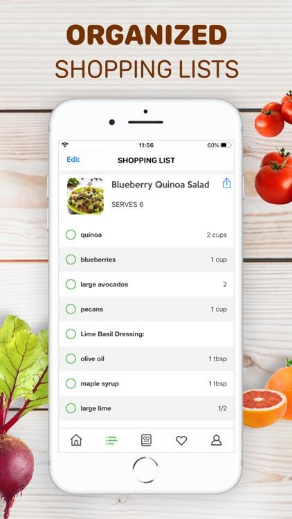 Healthy Recipes - Tasty Food screenshot-3