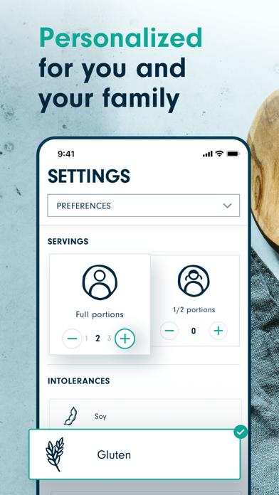 Forks Meal Planner Screenshot