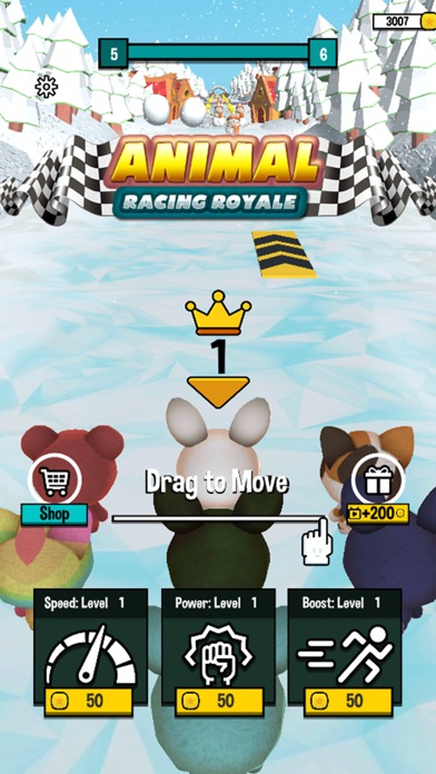 Animal Racing Royale screenshot 1