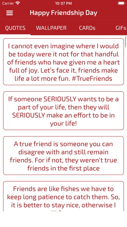 Friendship Day Cards Wallpaper