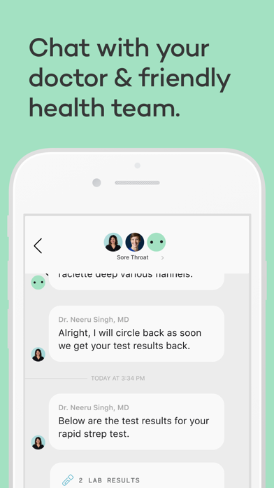 messages.download Carbon Health® - Medical Care software