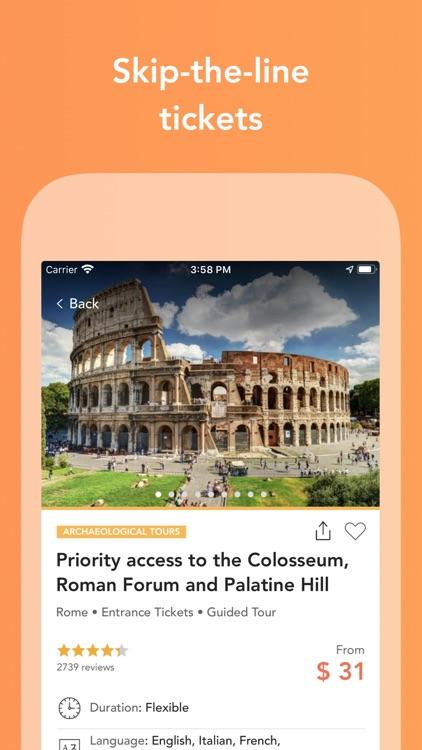 Musement - Travel Activities screenshot-4