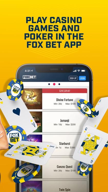 FOX Bet Sportsbook & Casino screenshot-4