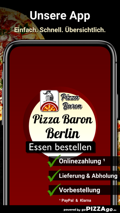 Baron Berlin Pizza screenshot 1