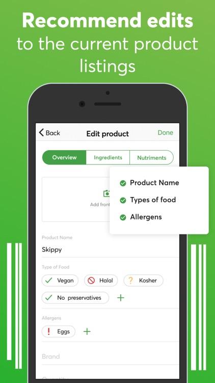 Food scanner: gluten, allergen screenshot-6