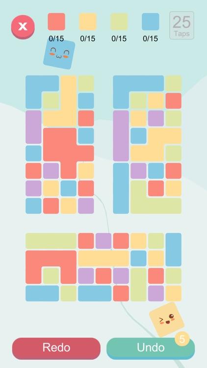 Blocks And Taps - Brain puzzle screenshot-3