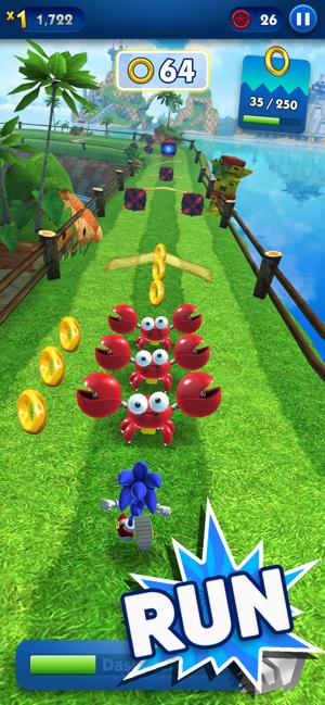 Sonic Dash - Endless Running Screenshot