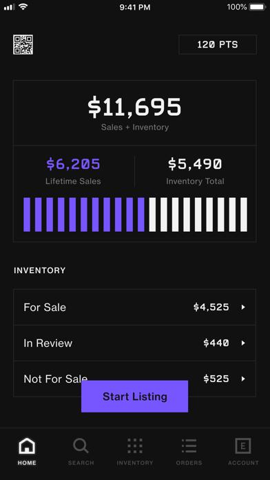 alias: sell sneakers + apparel Screenshot