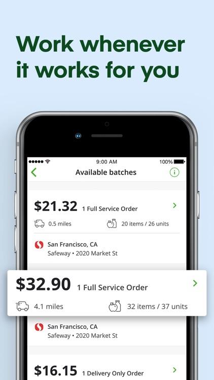 Instacart Shopper: Earn money screenshot-3