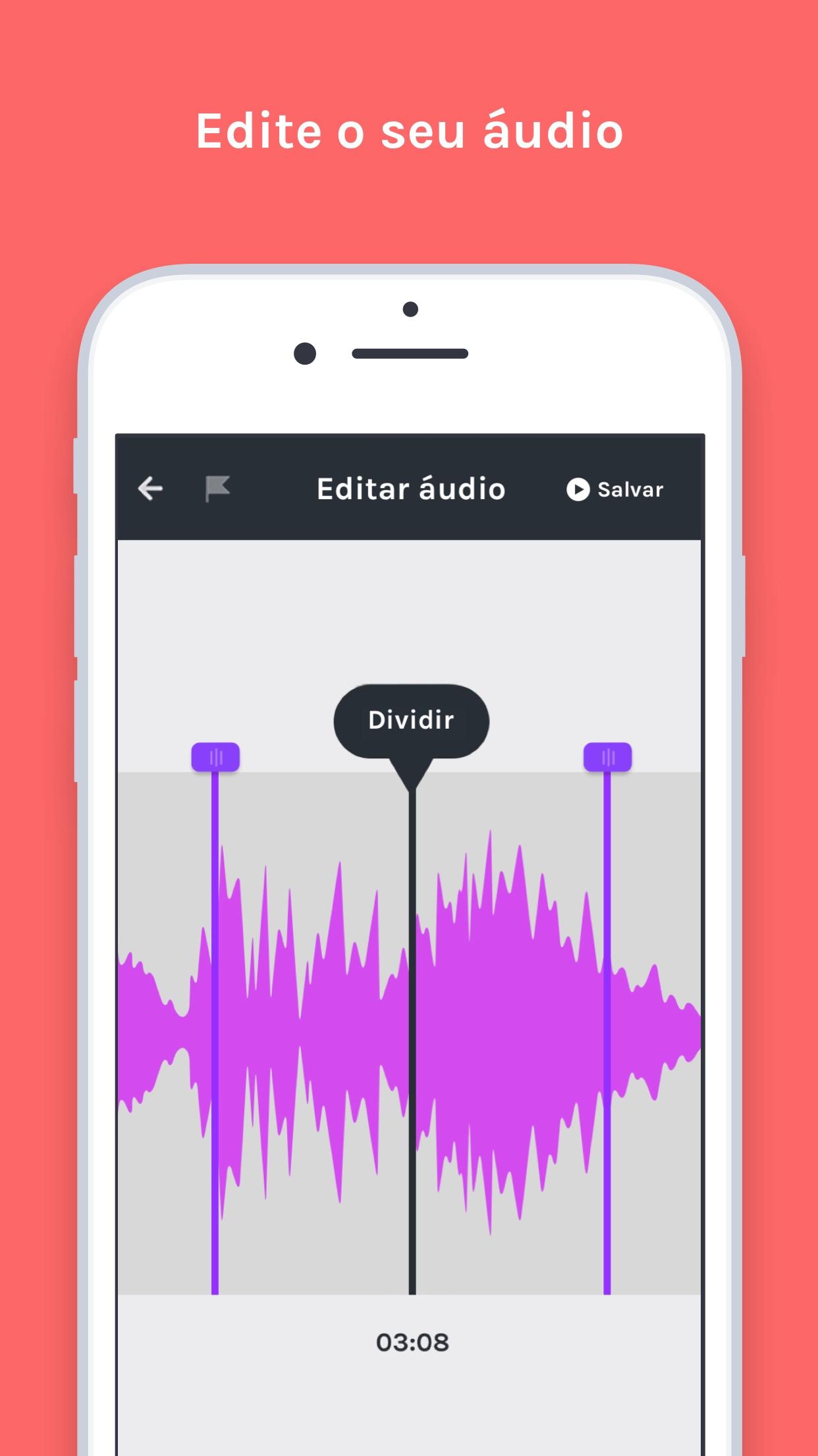 Screenshot do app Anchor - Faça seu podcast