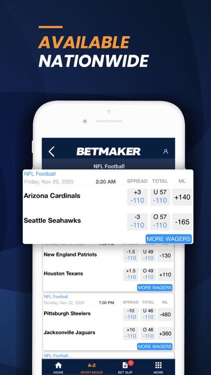BetMaker™ Sports Betting App screenshot-5