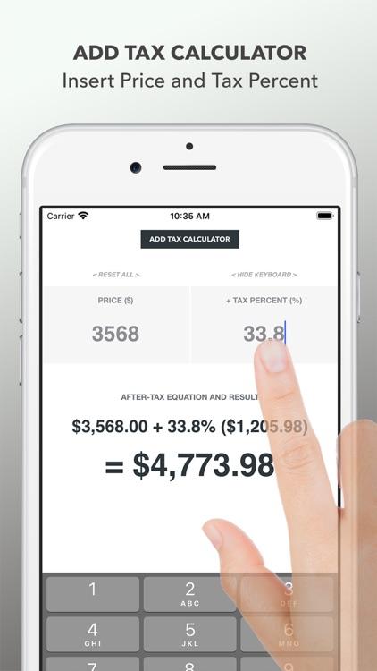 Tax Calculator – 2020