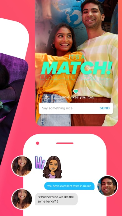 Screenshot of Tinder - Dating New People App