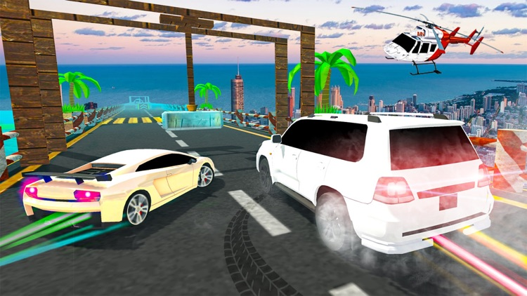 Prado Car Stunts Mega Ramp SUV screenshot-6