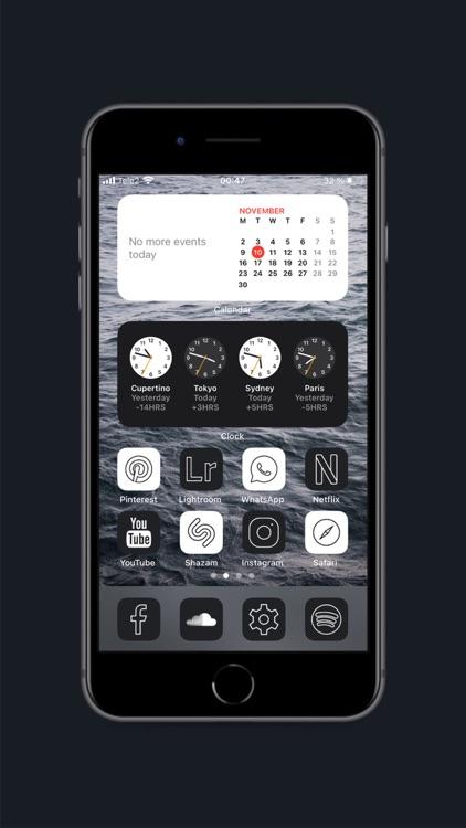 Home Screen Icons Tuning screenshot-3