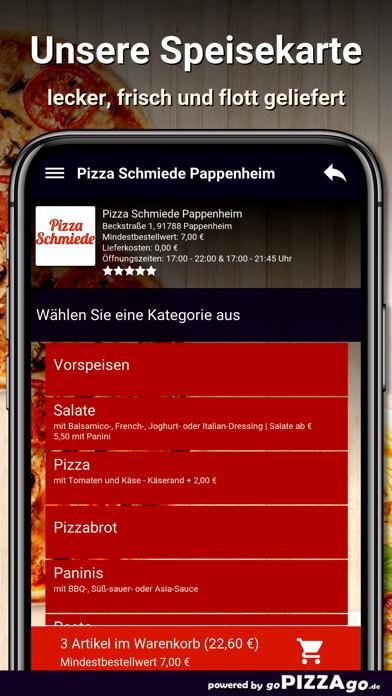 Pizza Schmiede Pappenheim screenshot 4
