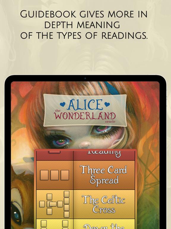 Ipad Screen Shot Alice: The Wonderland Oracle 4