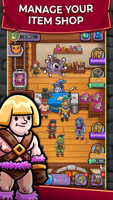 Dungeon Shop Tycoon screenshot 1