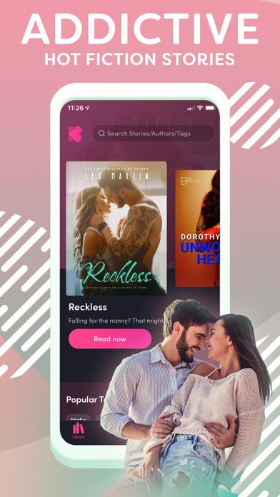 Kiss - Read & Write Romance Screenshot