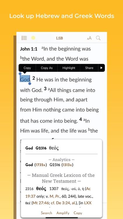 Legacy Standard Bible