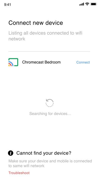 Cast for chromecast app home screenshot-4