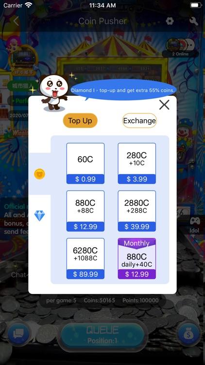 Coin Pusher -Real Claw Machine screenshot-3