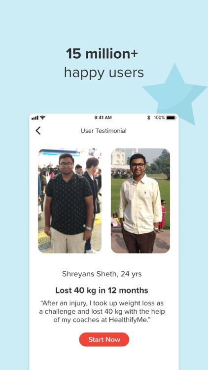 HealthifyMe: Weight Loss Plan screenshot-4
