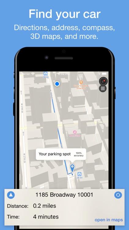 ParkIt - Parked Vehicle Finder screenshot-0