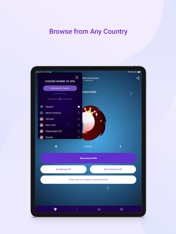 Screenshot #5 pour Free VPN by Free VPN .org™
