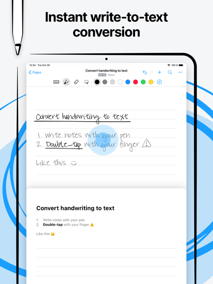 Best note-taking app for iPad with apple pencil