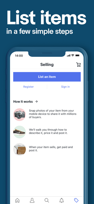 Ebay On The App Store