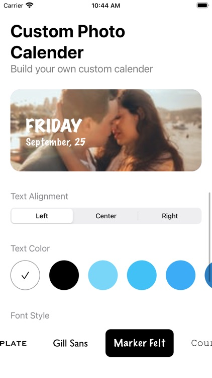 Color Photo Calendar Widget screenshot-4