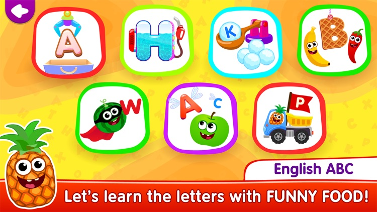 Alphabet! Kids Learning games screenshot-0