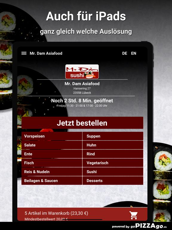 Mr. Dam Asiafood Lübeck screenshot 7
