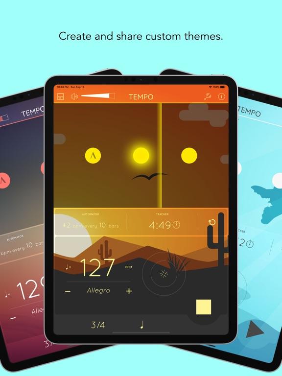 Tempo - Metronome with Setlist Screenshots