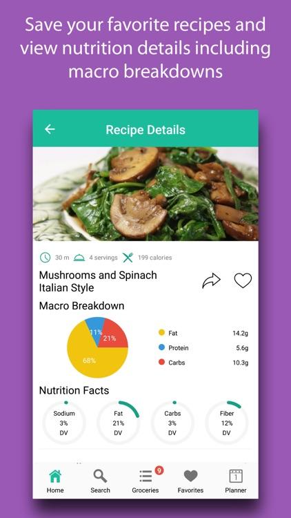 Quick Eats - Fast Recipes screenshot-3