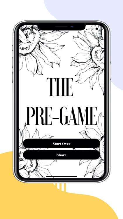 The Pre-Game screenshot-3