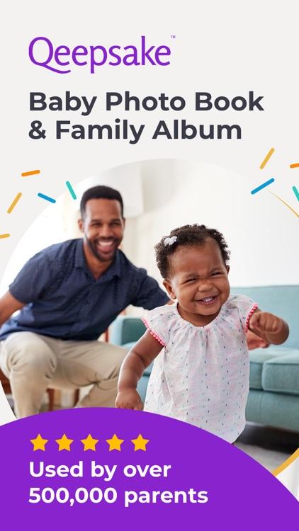 Qeepsake: Family & Baby Book