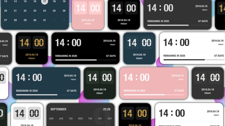 Motick - Flip Clock screenshot-1