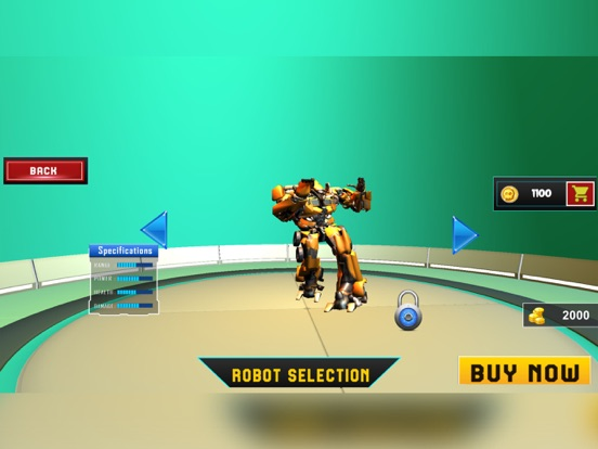 Incredible Robot Hero Monster screenshot 5