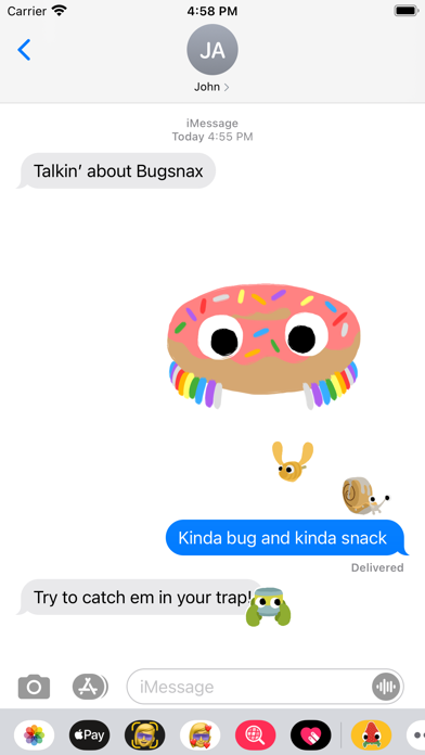 Bugsnax Stickers screenshot 2