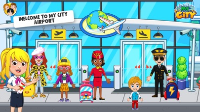 My City : Airport screenshot 1