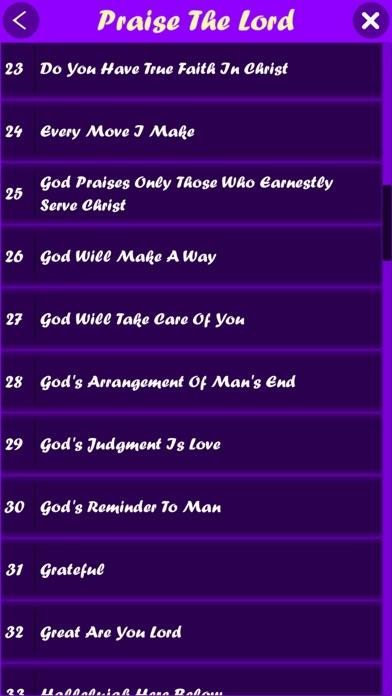 Hallelujah (English Songs) screenshot 3