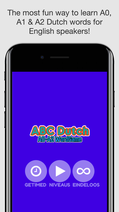 ABC Dutch A0-A2 WordGame Screenshot