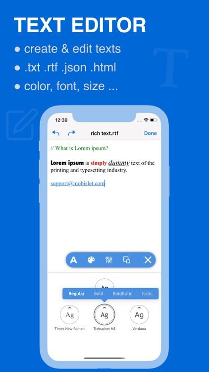 Docstor — Document Editor