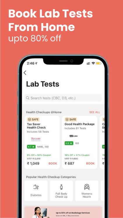1mg - Health & Wellness App screenshot-4